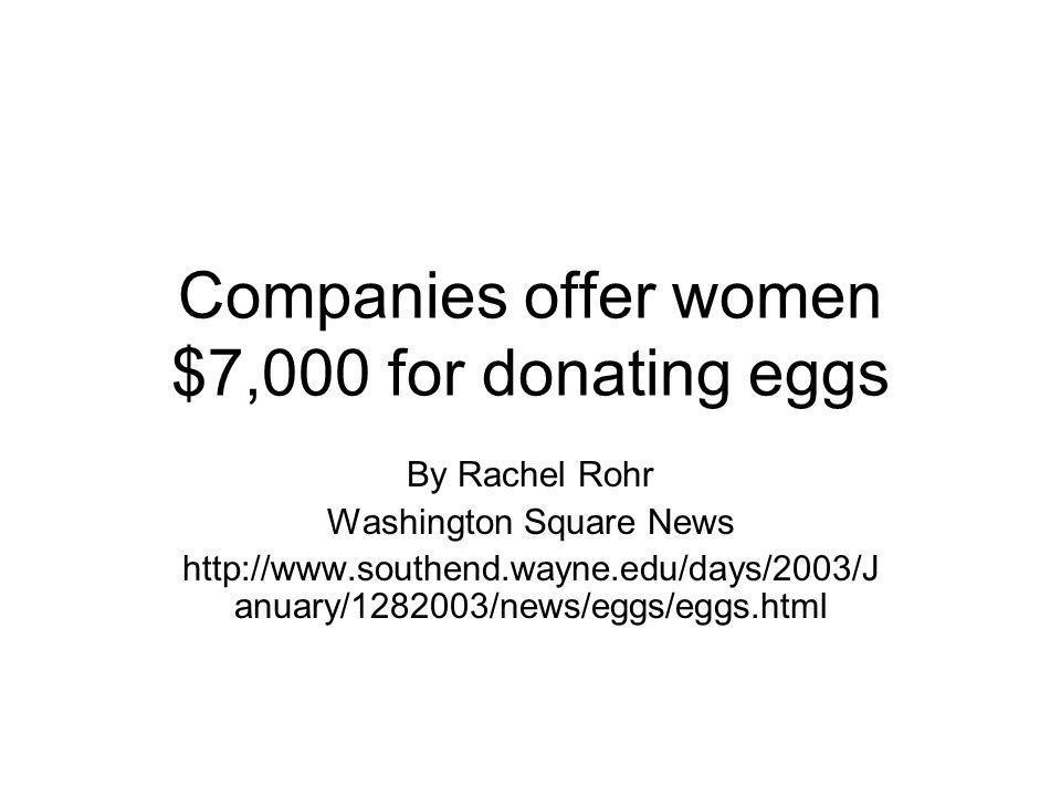 Supply of Eggs.