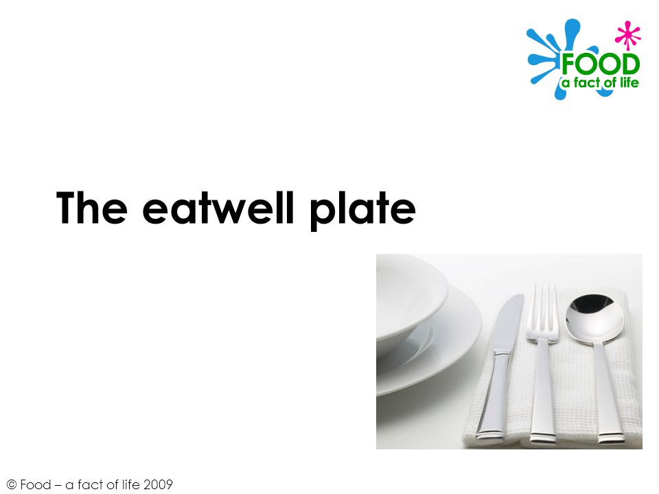 © Food – a fact of life 2009 Composite foods Think about how these foods combine the groups of the eatwell plate.