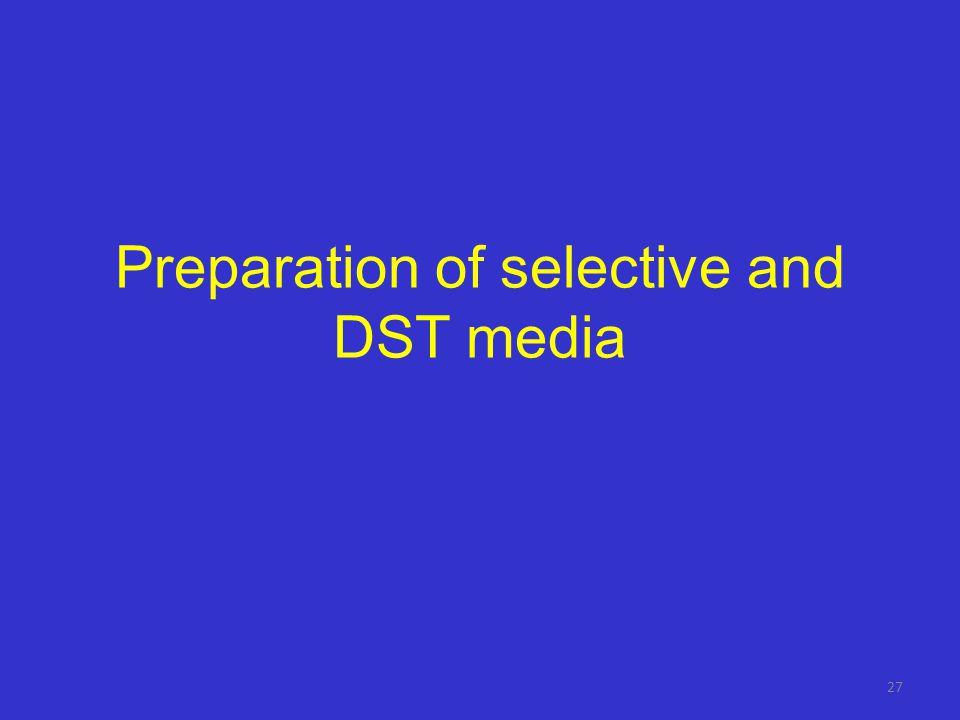 Media log-sheet – second part Preparation: Second stepPreparation date: Operators name: Reagents Quantity (ml or g) ManufacturerReferenceBatch number