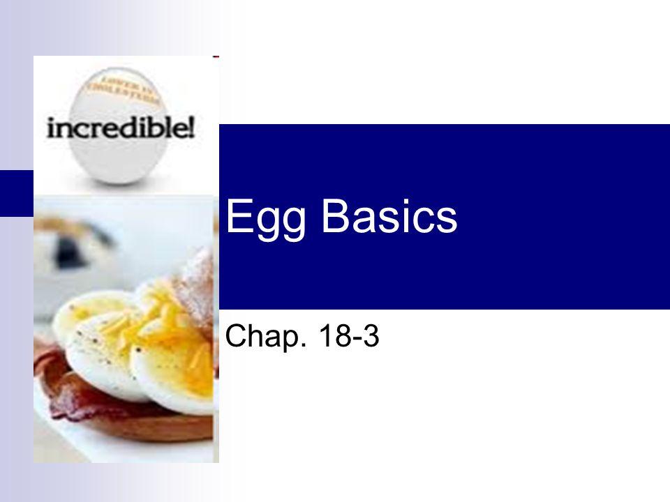 Egg Basics Chap. 18-3