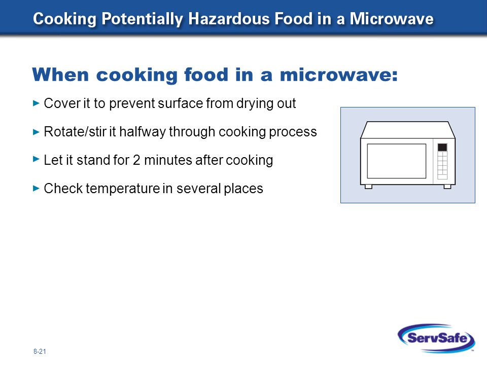 What is the minimum internal cooking temperature for each of these items.