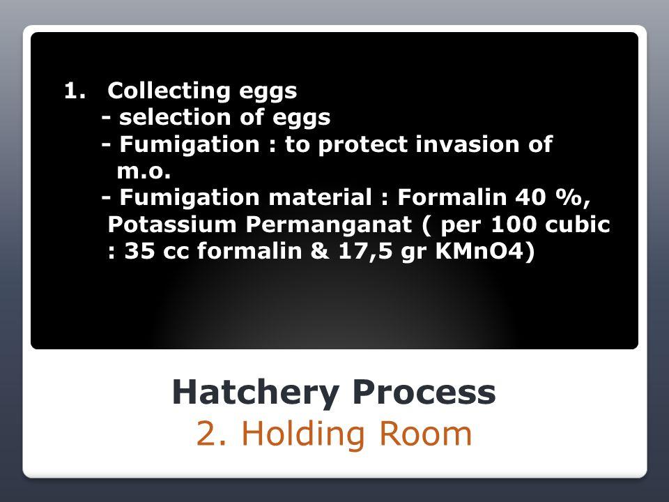 Hatchery Process 3.
