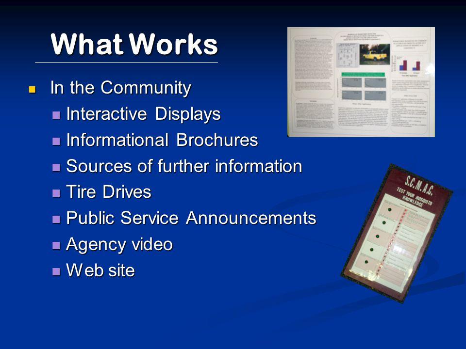 Community Information Public Service Announcement 15 minute Agency Video Web Site www.scmac.org