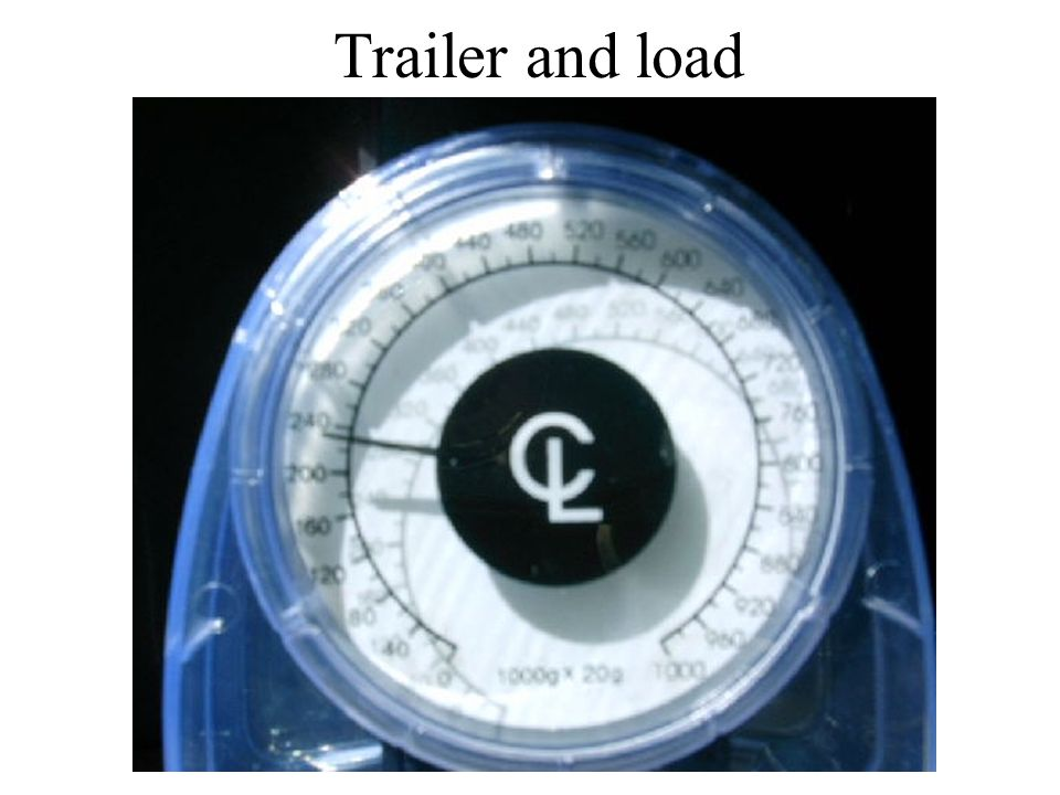 Trailer and load