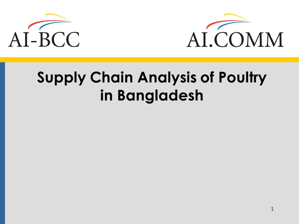 Marketing Chain of Commercial Poultry I: Egg Wholesalers 24 egg wholesalers: 6 each in Dhaka and Chittagong and 4 each in Comilla, Dinajpur, and Jessore surveyed; Eggs are transported mostly by vans or other means; receive eggs daily and mix the unsold and newly arrived ones together; Majority of the vehicles are not cleaned properly; wash hands only before eating and after they return home 12