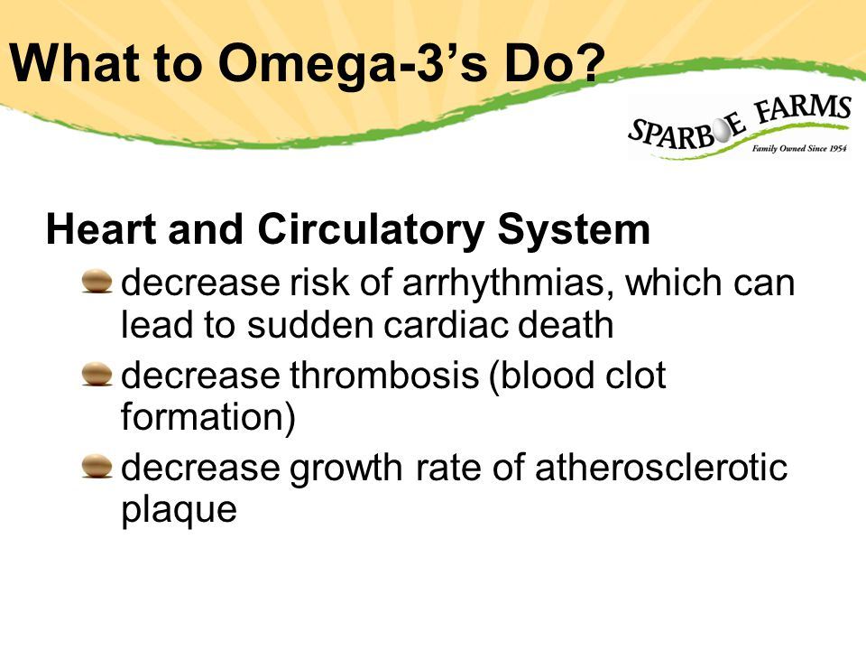 What to Omega-3s Do.