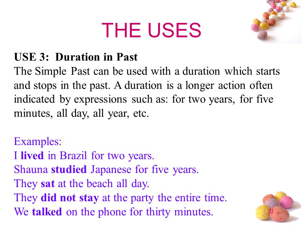 # EXERCISE 2 – What´s the past of...? Drink See Do Have Bring Run Say Tell Make Put Begin Forgett