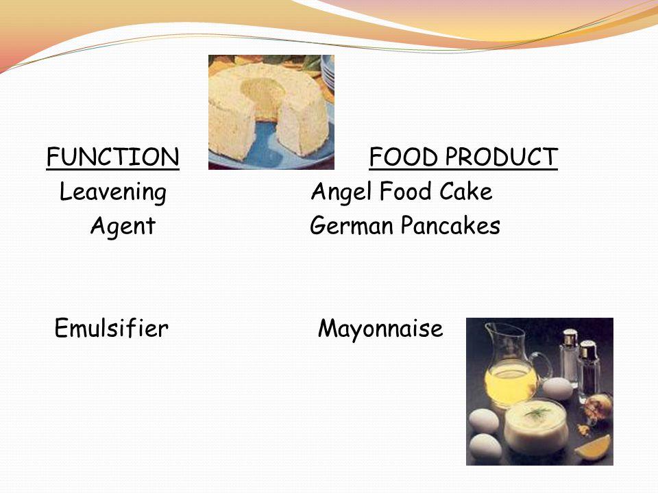FUNCTIONFOOD PRODUCT Leavening Angel Food Cake Agent German Pancakes Emulsifier Mayonnaise