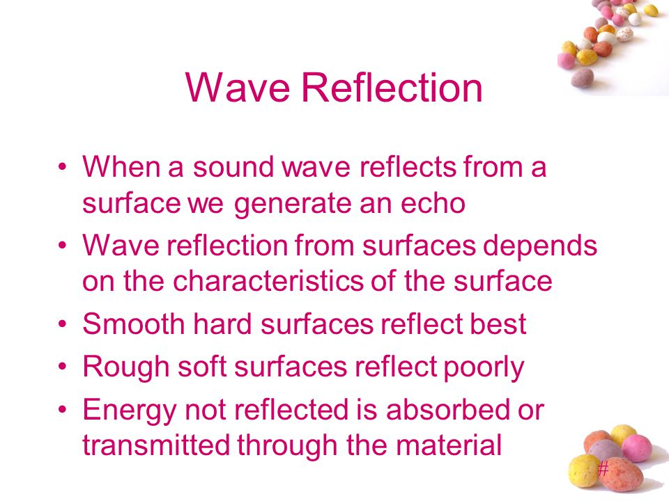 # Speed of Sound Depends on the material of the vibrating medium Sound can vibrate water, wood (speaker enclosures, pianos), metal, plastic, etc. Fast