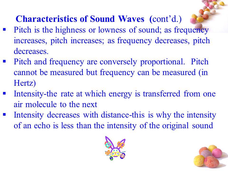 # Sound Waves