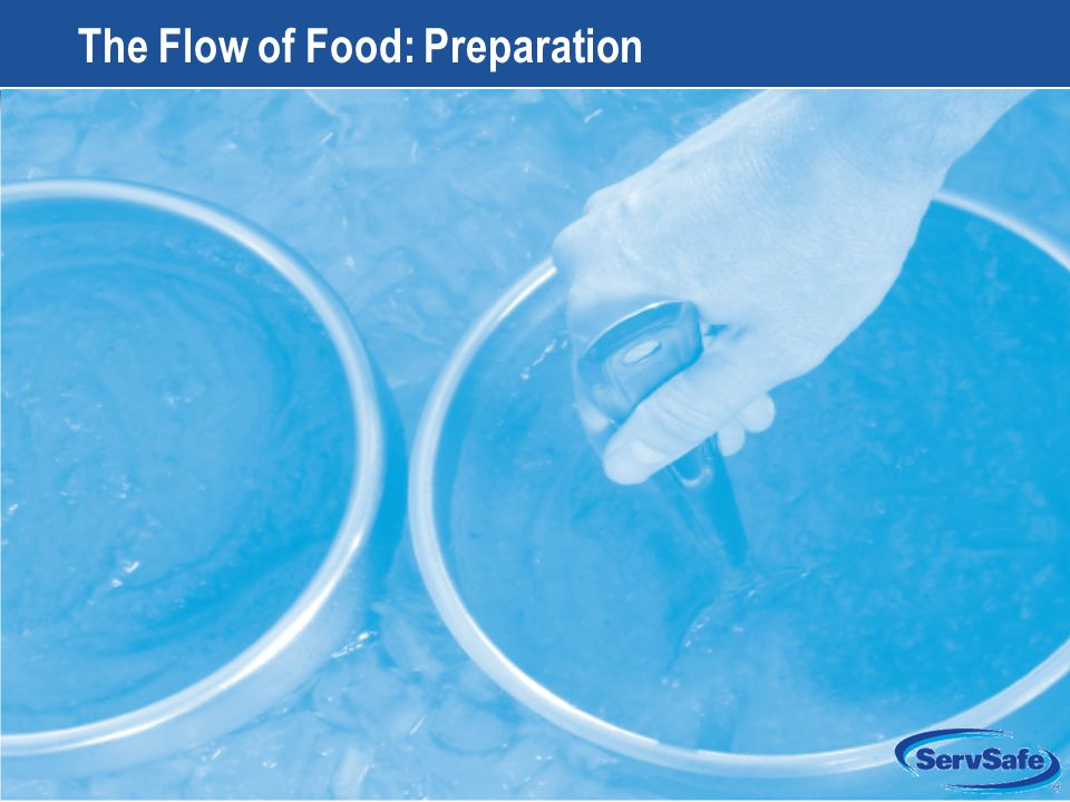 8-1 The Flow of Food: Preparation