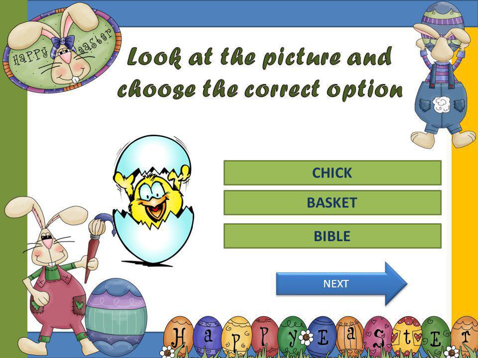 CROSS CHICK BIBLE LAMB BUNNY DAFFODIL BUTTERFLY BASKET EGG LILY