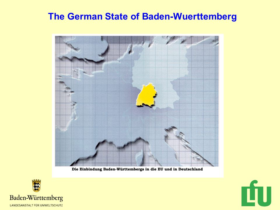 The German State of Baden-Wuerttemberg