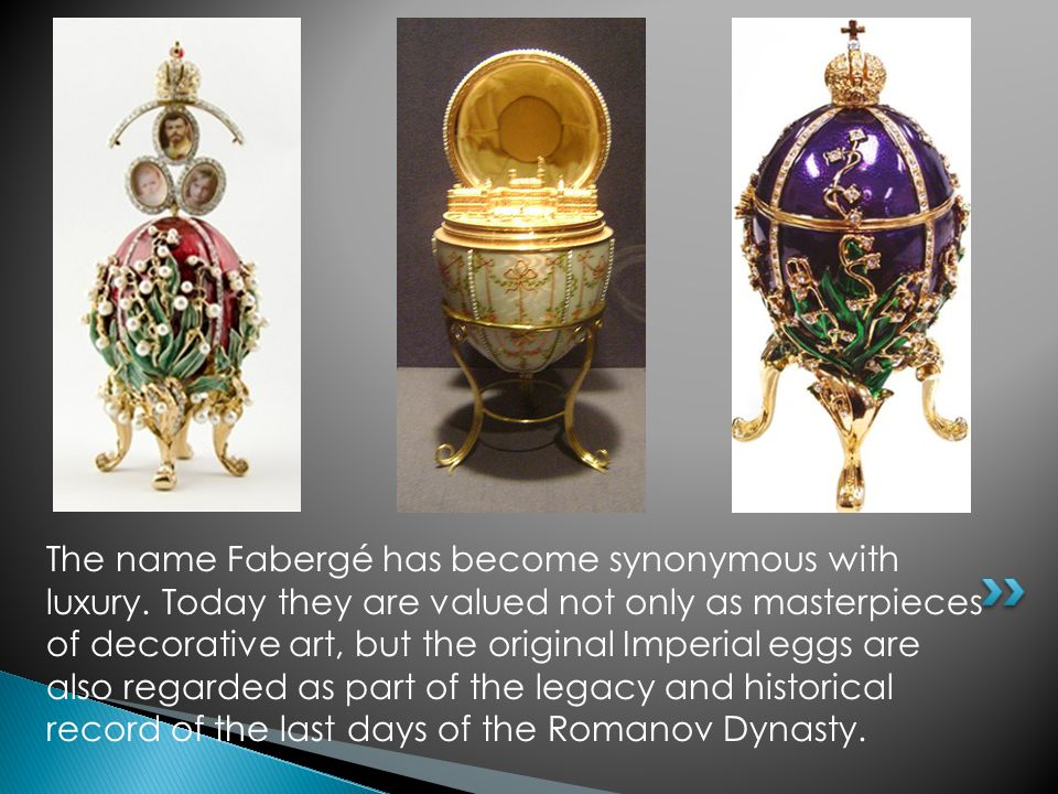 The name Fabergé has become synonymous with luxury.