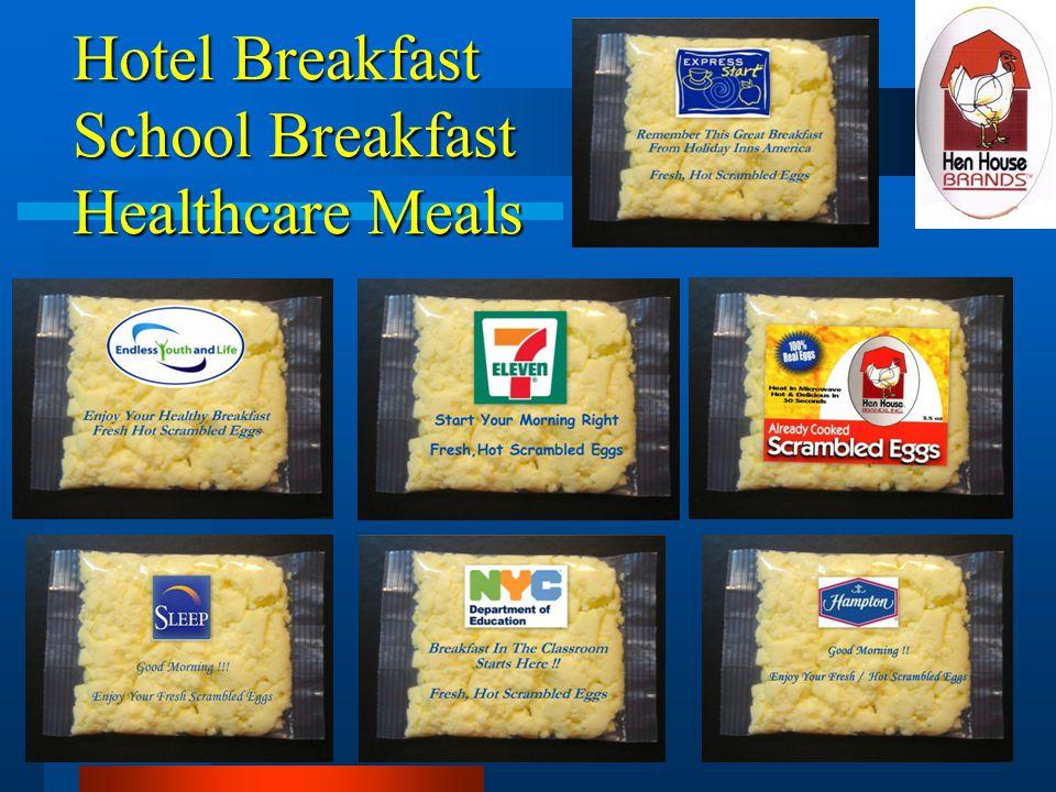Hotel Breakfast School Breakfast Healthcare Meals