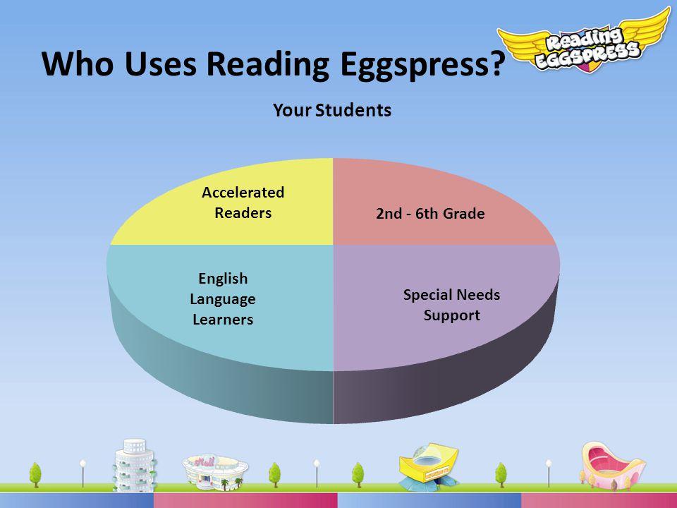 Who Uses Reading Eggspress