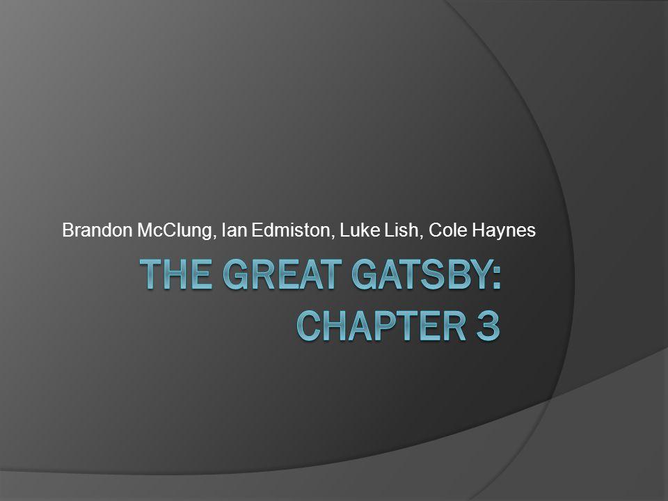 Brandon McClung, Ian Edmiston, Luke Lish, Cole Haynes