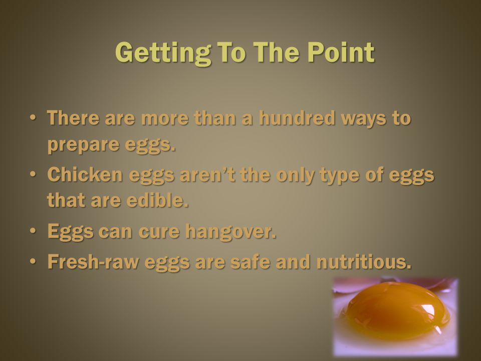 Source Source : http://eggs.org.au/system/attachments/22/original/nut-eggstructure.jpg?1240471727http://eggs.org.au/system/attachments/22/original/nut-eggstructure.jpg?1240471727 Inside Of It (Chickens Egg)