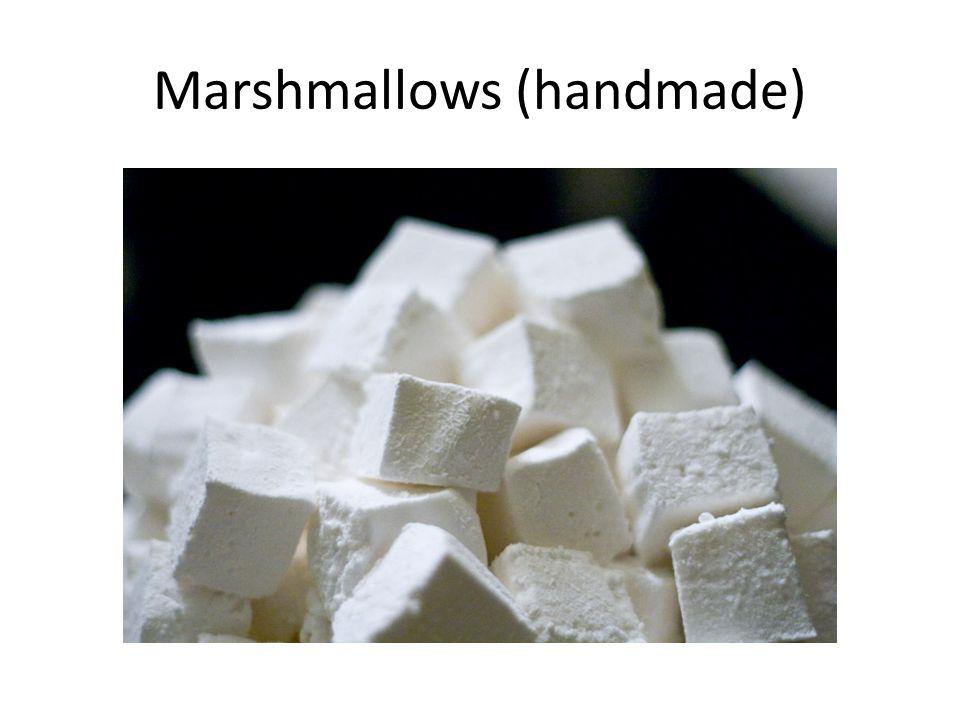 Marshmallows (handmade)