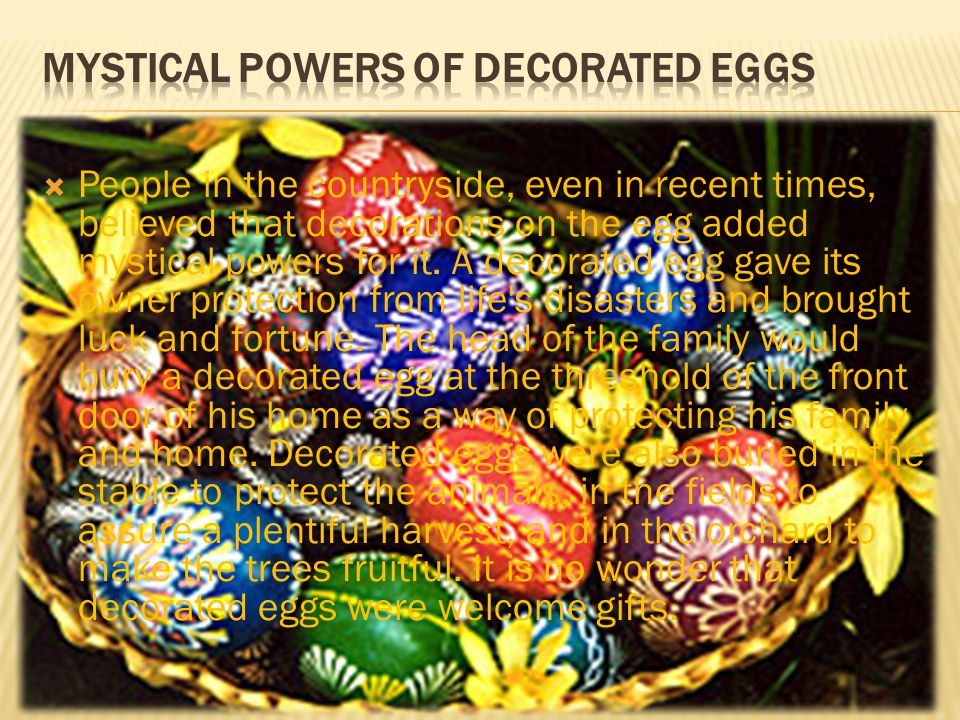 In Lithuania, two methods for decorating eggs were commonly used.