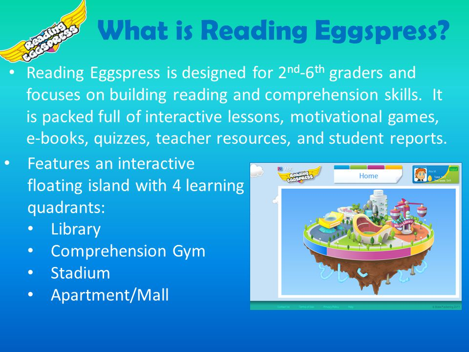 What is Reading Eggspress.