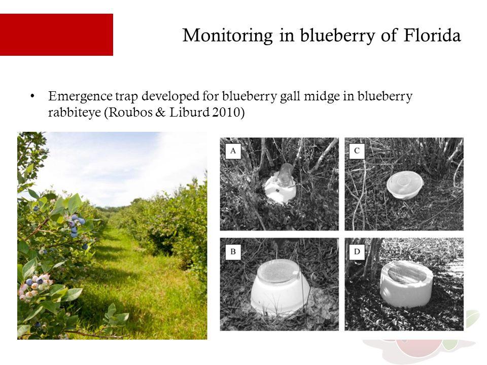Emergence traps developed in Quebec Petri dish trap (P1) Plate trap (P2)