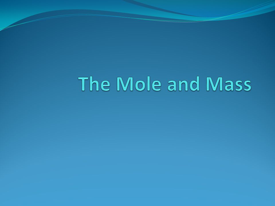 Chemical Formulas and the Mole In the compound CCl 2 F 2 how many atoms do we have.