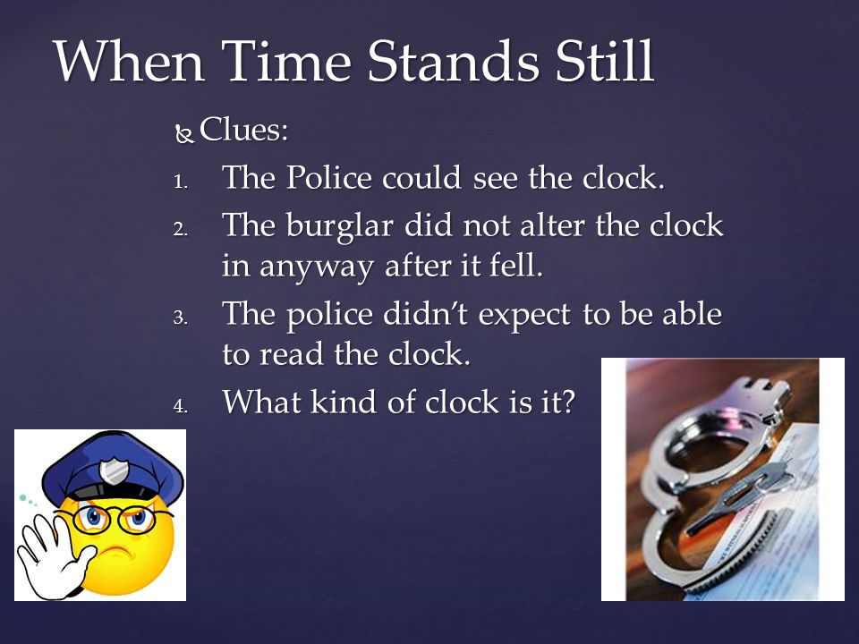 Answer: Answer: It is a digital clock, so when it broke the numbers no longer light up.
