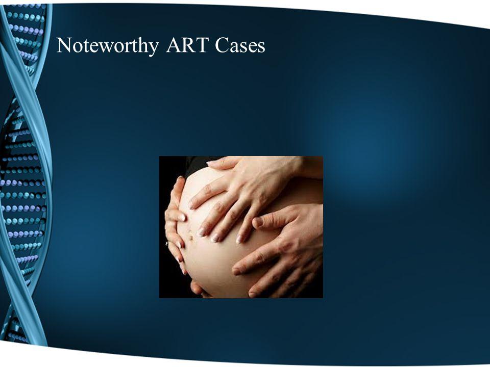 Noteworthy ART Cases