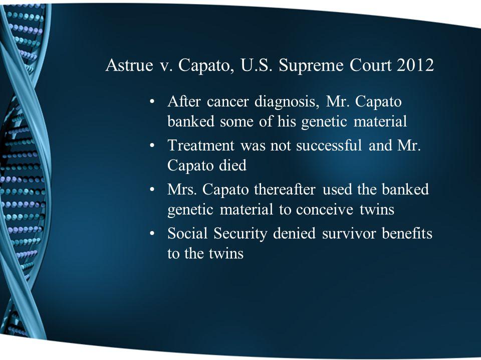 Astrue v.Capato, U.S.