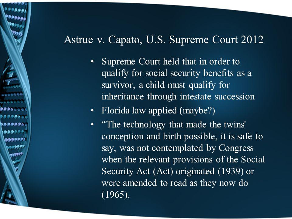 Astrue v. Capato, U.S.