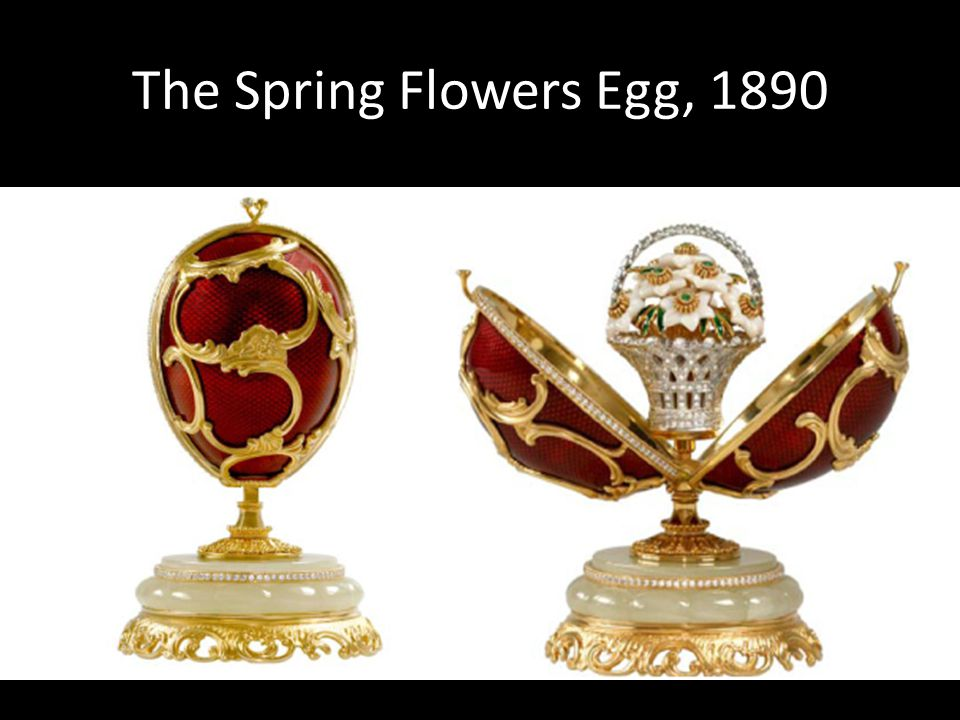 The Spring Flowers Egg, 1890