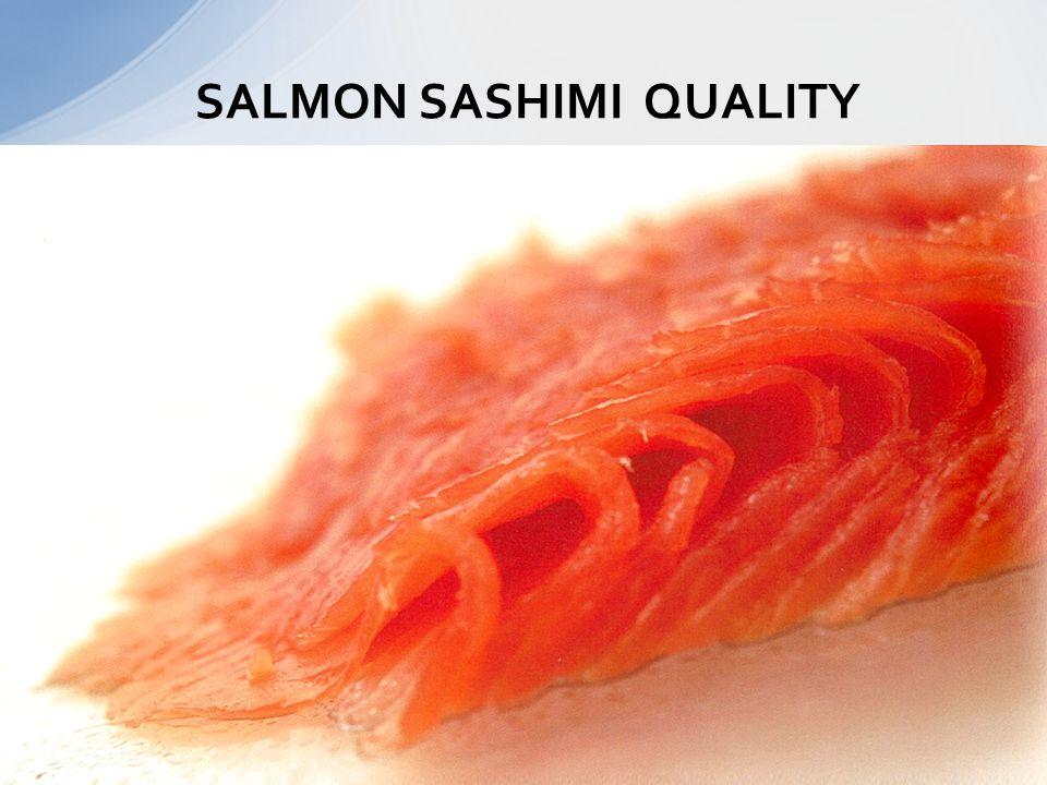 SALMON SASHIMI QUALITY