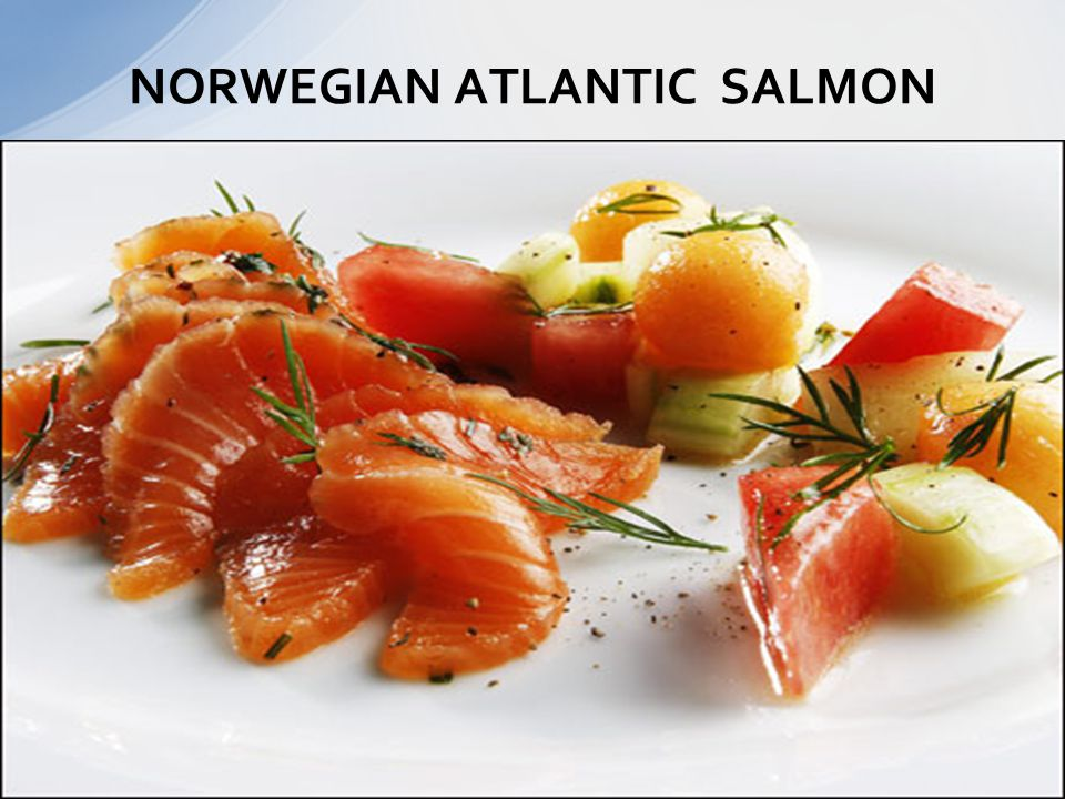 NORWEGIAN ATLANTIC SALMON