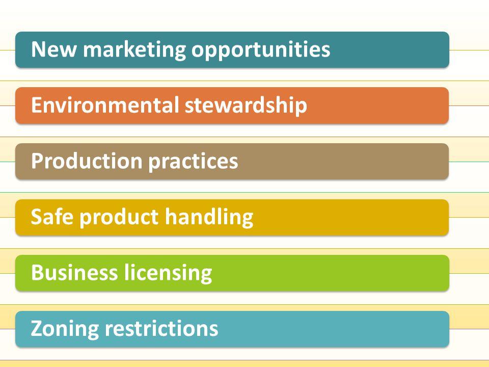 Leveraging flock management Certification programs Evaluating program costs & benefits New Marketing Opportunities