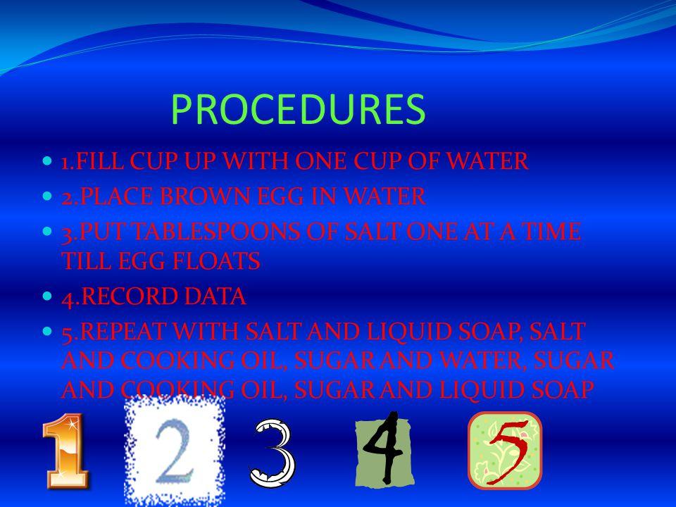 DATA SALT,WATER YES 7TBS.SALT,LIQUID SOAP YES 6TBS.
