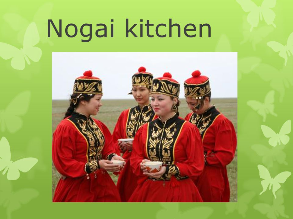 Nogai kitchen