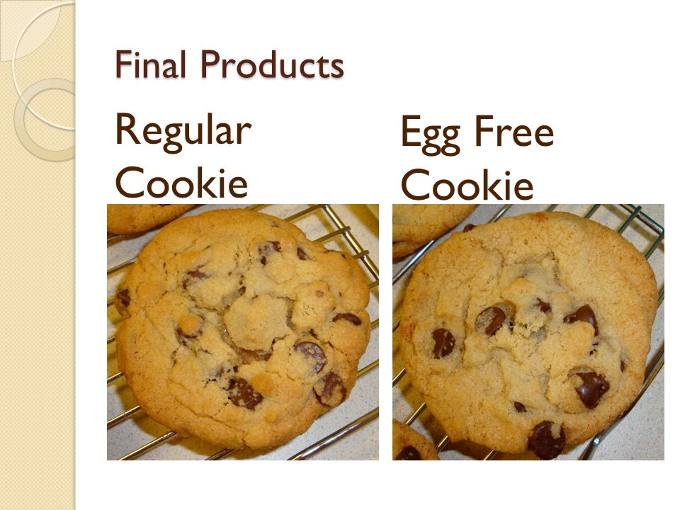 Final Products Regular Cookie Egg Free Cookie