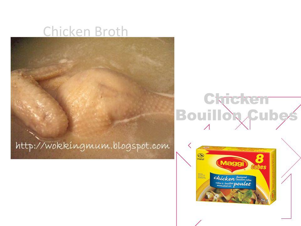 Chicken Broth Chicken Bouillon Cubes