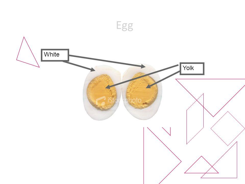 Egg White Yolk
