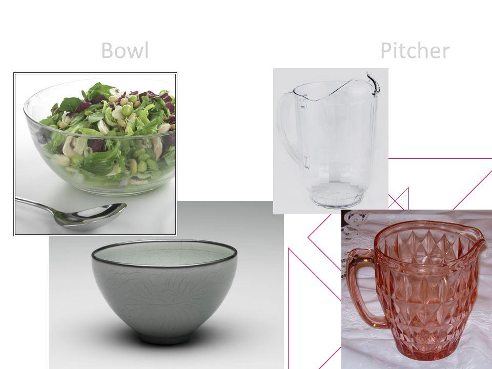 Cup, Half cup, Quarter of a Cup