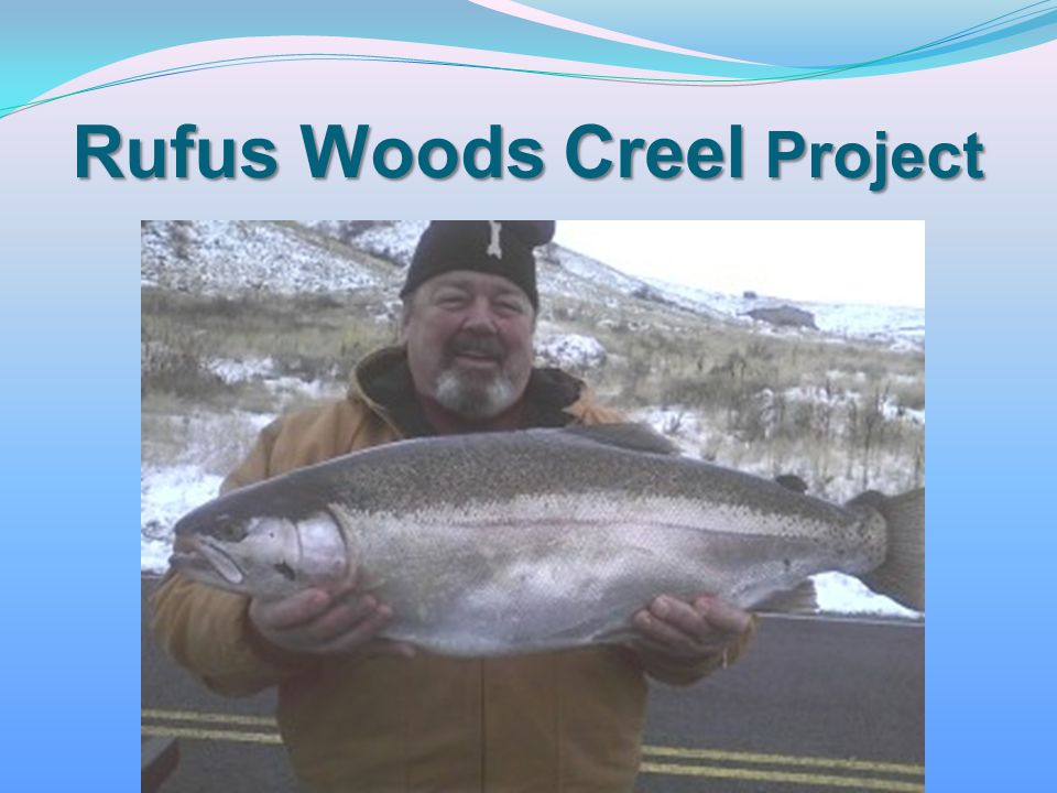 Rufus Woods Creel Project