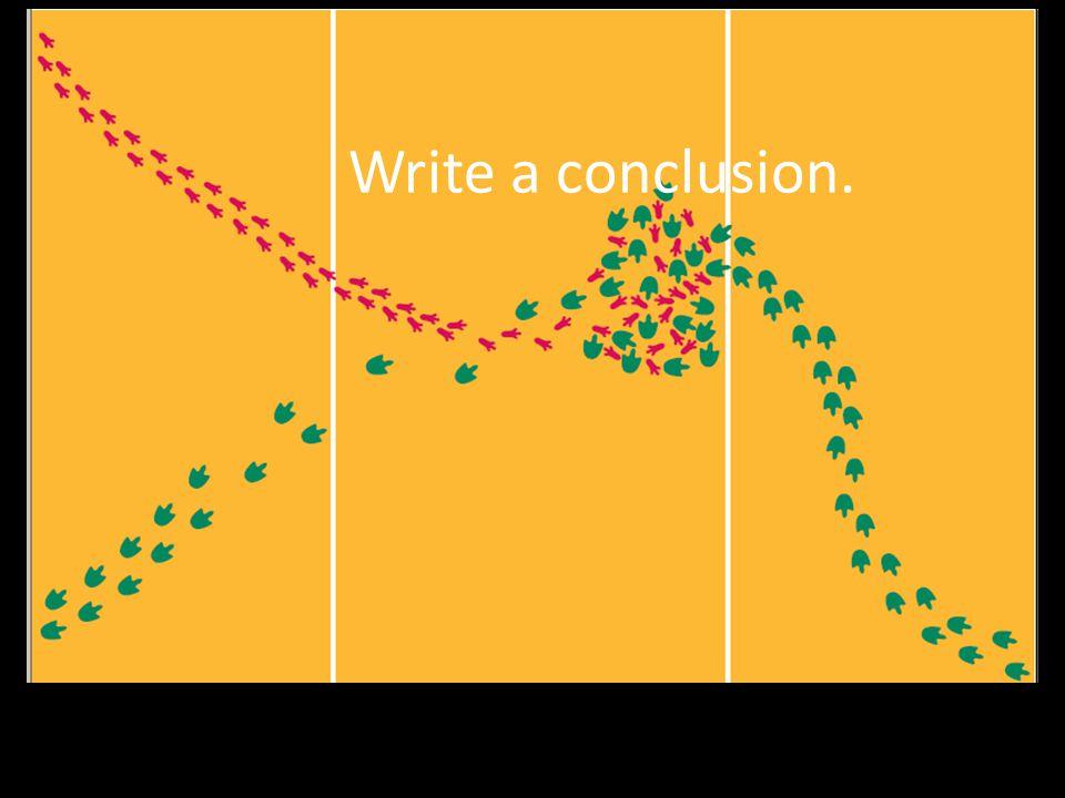Write a conclusion.