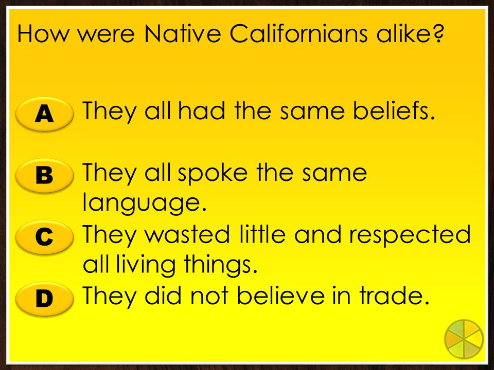 B B A A C C D D Who could receive a land grant in California under Mexican rule? Only Mexican citizens Anyone Only Native Americans Only men