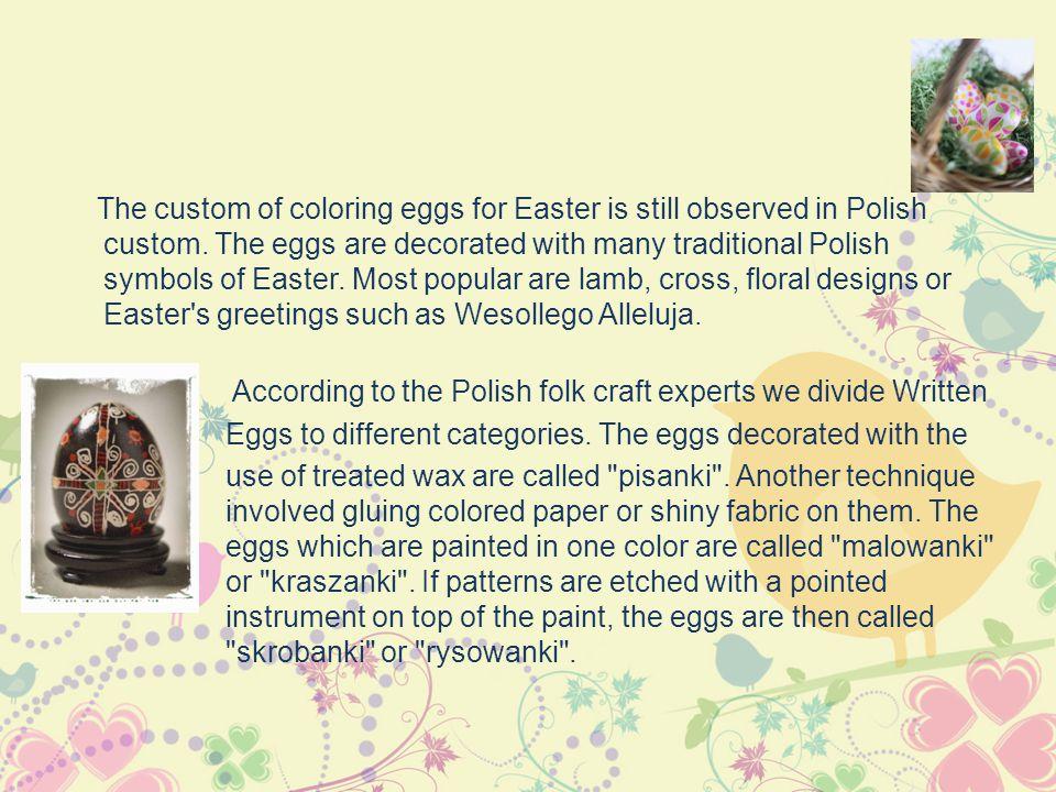 Writing eggs/ Pisanki, kraszanki. malowanki, drapanki, wyklejanki, nalepianki