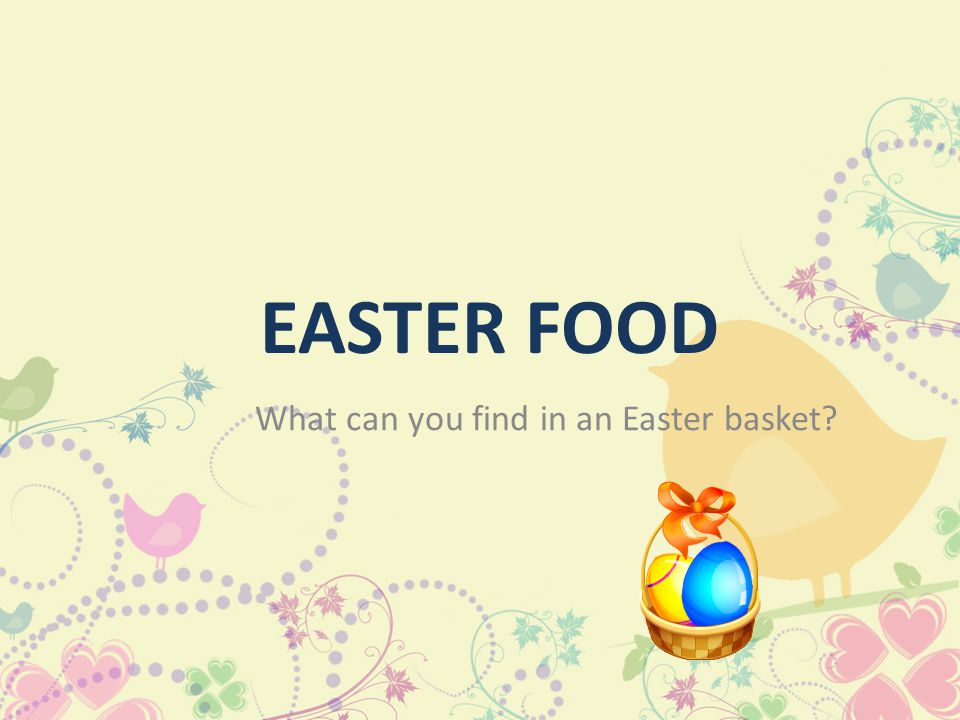 At present painted eggs are being carried out before the Easter. And now the ceremonial breakfast on Sunday Easter is preceding sharing by the blessed
