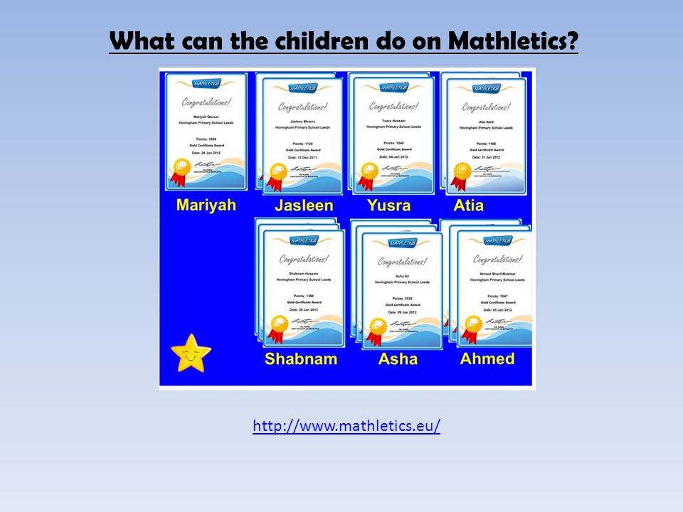 What do you need in order to use Mathletics.