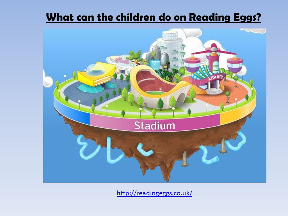What can the children do on Reading Eggs? http://readingeggs.co.uk/