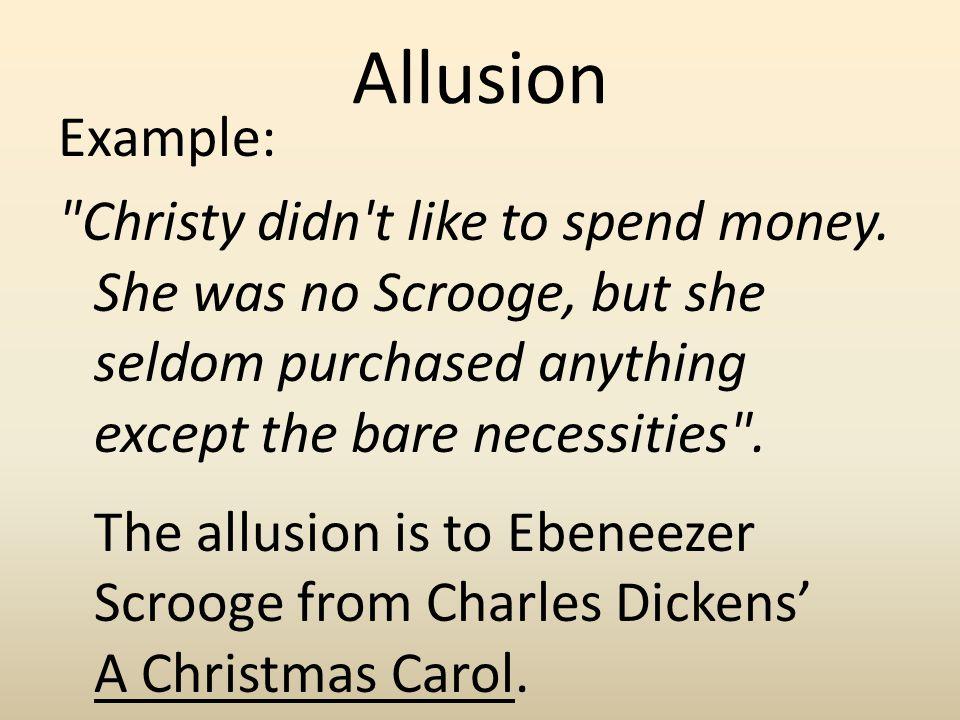 Allusion Example: