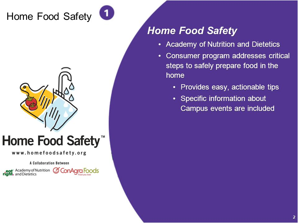 3 Home Food Safety Why Food Safety Is Important 76 million cases of foodborne illness each year 325,000 people are hospitalized annually 5,000 deaths each year 76 million cases of foodborne illness each year 325,000 people are hospitalized annually 5,000 deaths each year